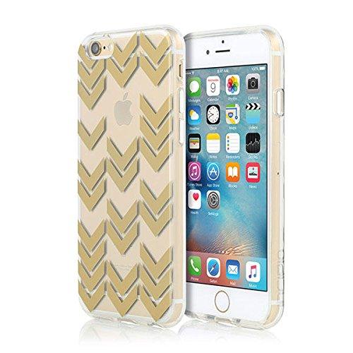 Incipio Design Isla for iPhone 6Plus/6SPlus iPhone 6S Case, Incipio Isla Design Series Case [Scratch Resistant] Cover fits Both Apple iPhone 6, iPhone 6S - Gold