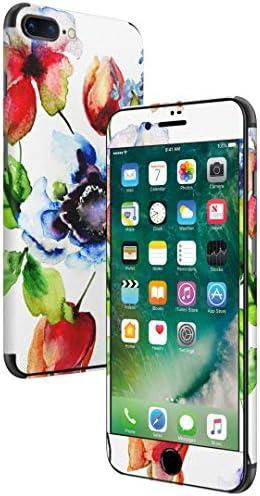igsticker iPhone SE 2020 iPhone8 iPhone7 専用 スキンシール 全面スキンシール フル 背面 側面 正面 液晶 ステッカー 保護シール 011877 花柄 フラワー おしゃれ