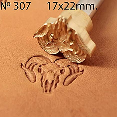 Leather Stamp Tool Stamping Working Carving Punches Tools Craft Saddle Brass #303