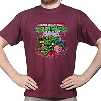 Teenage Mutant Ninja Zombie Turtle Halloween T-shirt, Größe:L;Farbe: