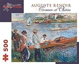 Pierre Auguste Renoir - Oarsmen at Chatou: 500 Piece Puzzle (Pomegranate Artpiece Puzzle)