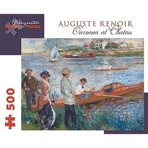 Pierre Auguste Renoir Oarsmen At Chatou 500 Piece Puzzle Inglese Giocattolo 1 Ott 2013