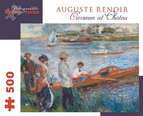 Pierre Auguste Renoir - Oarsmen at Chatou: 500 Piece Puzzle (Pomegranate Artpiece Puzzle)