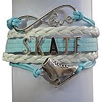 Colección Infinity Joyas de patinaje artístico - Chicas Pulsera de patinaje artístico - Regalos perfectos de patinaje artístico