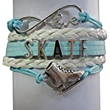 Figure Skating Jewelry- Girls Figure Skating Bracelet - Perfect Figure Skating Gifts