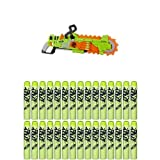 Nerf Zombie Strike Brainsaw Blaster with Nerf Zombie Strike 30-Dart Refill Pack