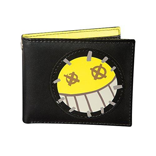 "JINX Overwatch Junkrat""Total Mayhem"" Graphic Bi-Fold Wallet (Black, One Size) -  889343082733"