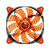 Cougar D14 LED Cooling Fan- Hydraulic Bearing- 1000rpm- 3pin-  Red