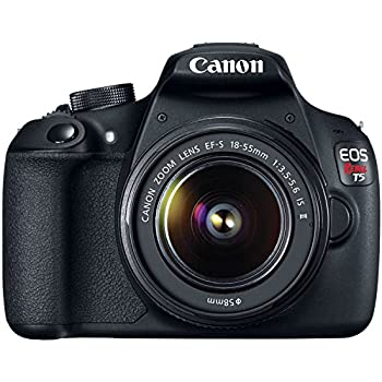 Amazon.com : Canon EOS Rebel T5 Digital SLR Camera Kit with EF-S ...