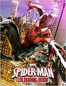 Spiderman Colouring Book: Funny Colouring Books with 50 ...