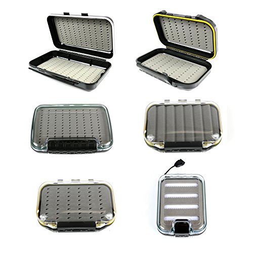 The Elixir Advenature Portable Waterprooof Multiple Compartments Fly Fishing Tackle Box Lure Lures Spoon Hook Bait Storage Box Case from Elixir Outdoor