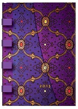 Seidenpracht Veilchen - Kalender 2013 Midi - Paperblanks