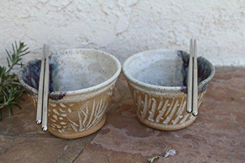 soup-bowl-set-handmade-ceramic-ramen-dish-rice-bowls-rustic-modern-kitchen-pottery