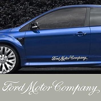 2 X Ford 60 Cm Seitenstreifen Aufkleber Decal Sticker Scheibe Lack