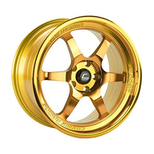 (Cosmis Racing Wheels XT (Hyper Gold): 18x11 Wheel Size, 5x114.3mm Lug Pattern, 73.1mm Hub Bore, 8mm Off Set.)