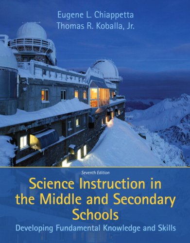 (Science Instruction in the Middle and Secondary Schools: Developing Fundamental Knowledge and Skills (7th)