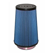 Airaid 703-471 Air Filter Cone 4-Inch x 6-Inch x 4 5/8-Inch x 9-Inch with Short Flange Blue