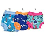 Zilee Baby Swim Diaper Swim Trunk Reusable Briefs