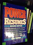 Power Resumes, Ronald Tepper, 0471551864