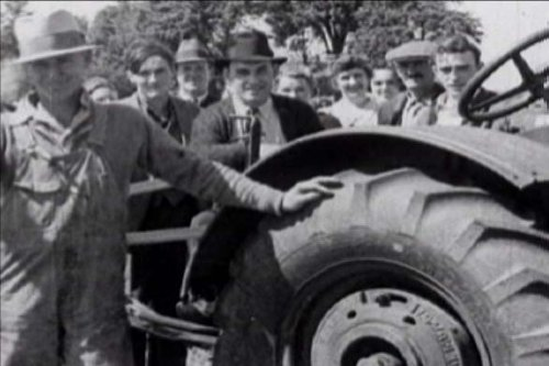 - Farmer Miller Goes Into High Gear (1920s): Rubber Tires & Technology in Agriculture by Goodyear