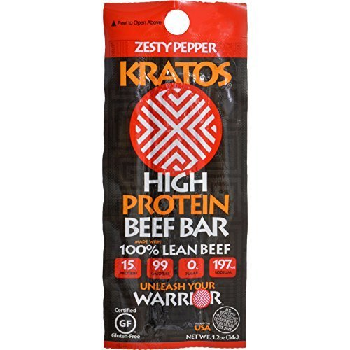 KRATOS BEEF BAR HP ZESTY PEPPER, 1.2 OZ by Kratos