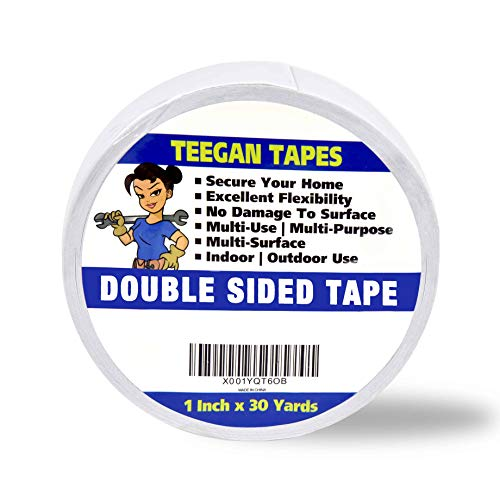 Double Sided Tape, Secure Your Carpets, Rugs, Tape for Clothes, Fabric, Multi-Purpose, Strong Hold 1