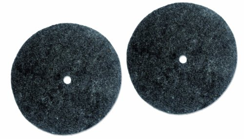 Koblenz Genuine Felt Buffing Pads Pack of Two Pads and Two Plastic ()