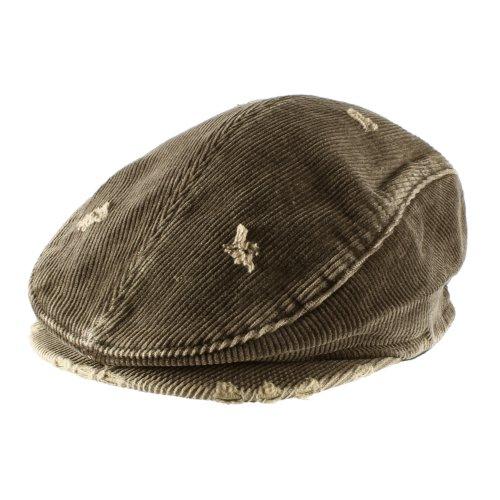Cotton Vintage Corduroys (Morehats Men's Women's Unisex 100% Cotton Vintage Corduroy Newsboy Cap Gatsby Hat - Chocolate)