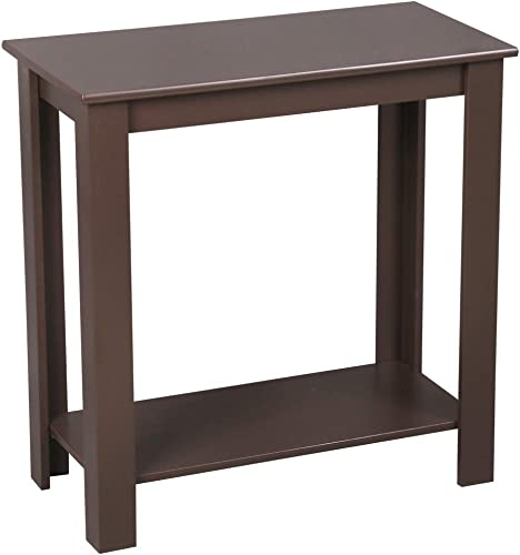 Cheap SoSo-BanTian1989 Coffee Finish 2-Tier Chair Side End Table living room table for sale