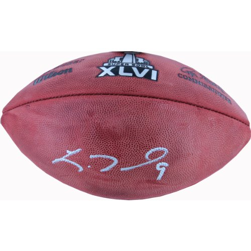 NFL New York Giants Lawrence Tynes Signed Football by Steiner Sports