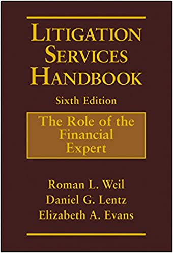 Litigation Services Handbook: The Role Of The Financial Expert by Amazon