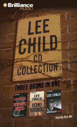 Lee Child CD Collection 2: Running Blind, Echo Burning, Without Fail (Jack Reacher Series)