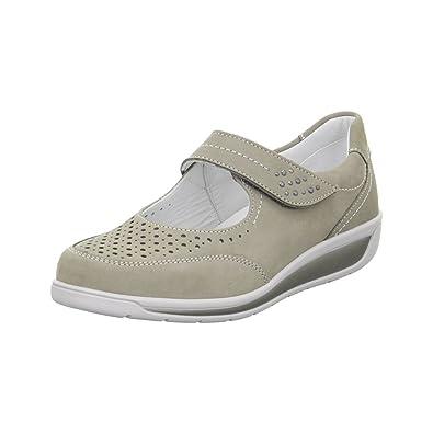6f8dc3d4ac213d ARA Damen Slipper Meran 12-36331-06 grau 114210  Amazon.de  Schuhe ...