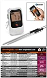 Maverick Et-735 White Bluetooth 4.0 Wireless Digital Cooking Thermometer, Monitors 4 Probes Simultaneously with Original Meathead Magnet