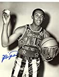 FERGIE JENKINS CHICAGO CUBS/HARLEM GLOBETROTTERS SIGNED AUTOGRAPHED 8X10 PHOTO W/COA