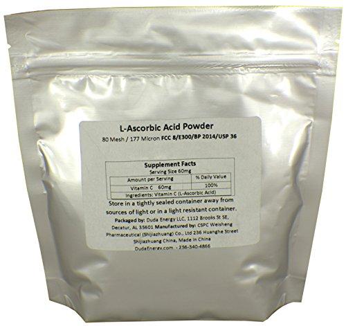 L Ascorbic Naturally Fermented Crystals Vitamin