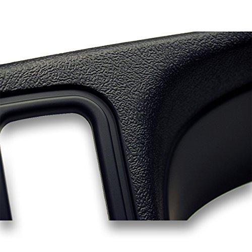 Ai GMK346TB Double DIN Dash Kit for 1999 - 2002 GM Trucks/SUV's OEM Textured, Full Size, Black