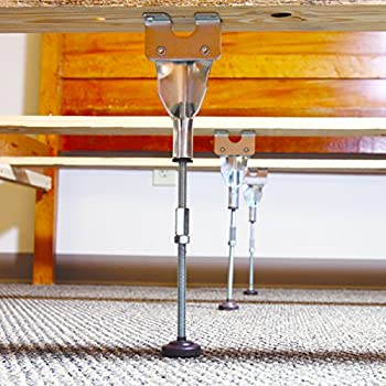 Amazon.com: Adjustable Center Leg Bed Frame Support: Home Improvement