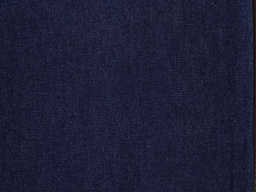 7.5-Ounce Indigo Pure Denim Fabric, 3 Yards by 66-Inch Wide,  by Kaltex - 3 Run 66