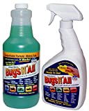 Bugs N All - Professional Strength Vehicle Cleaner/Bug Remover. 1qt. Concentrate Makes 8 Quarts. Includes an Empty 1 Qt. Spray Bottle - Safe on Wax, Clear Coat, Paint, Decals and on All Surfaces.