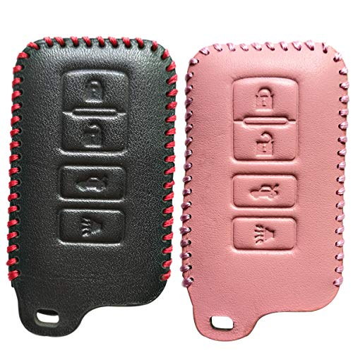 Bright Gifts Quality Key Cover Holder For Toyota Camry Avalon Prado Crown Land Cruiser Prius Chr C-hr Rav4 Corolla 2018 Smart Key Case Attractive Appearance Key Case For Car