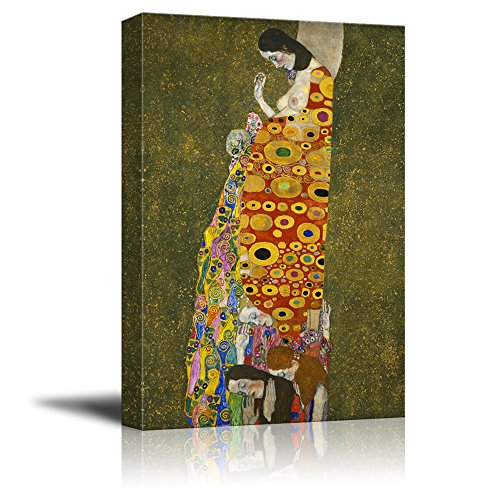 Hope2 by Gustav Klimt Gallery