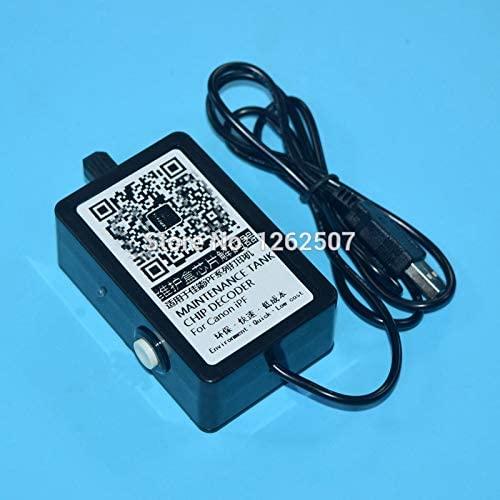 Chip Resetter for Can0n Mc-10 Waste Ink Tank Chip Resetter for Can0n Ipf650 Ipf655 Ipf750 Ipf755 Maintenance Box Chip Resetter Printer Spare Parts