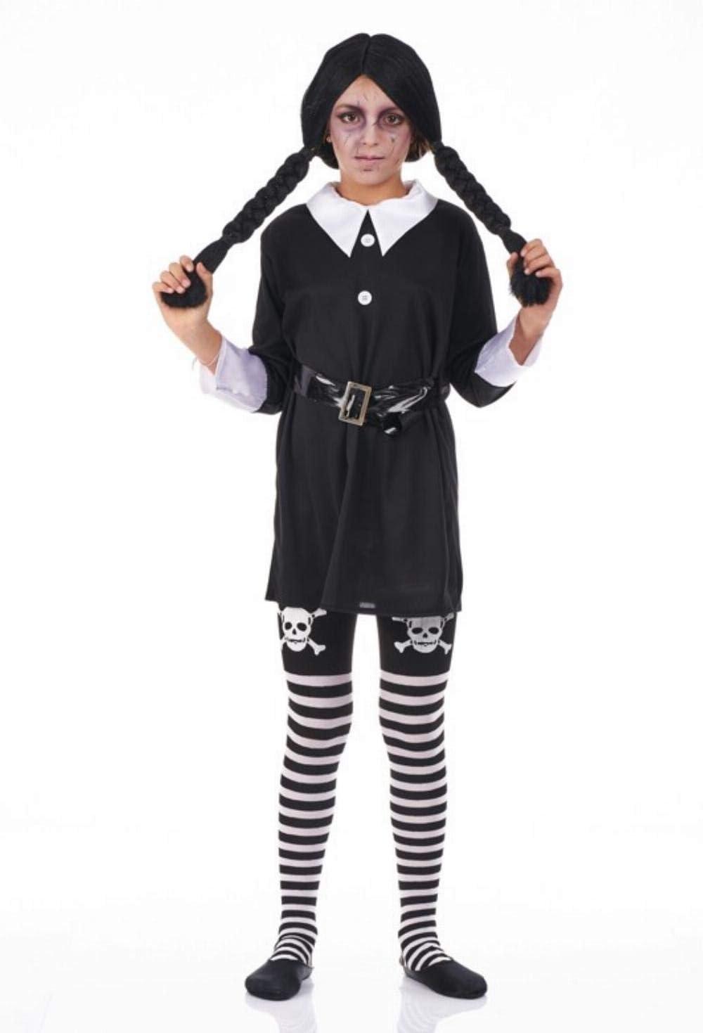 Disfraz de Colegiala Siniestra para niña: Amazon.es: Juguetes y juegos