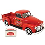 Coke 1953 Chevy Pickup Die Cast Model - Coca Cola Graphics Miniature Cooler