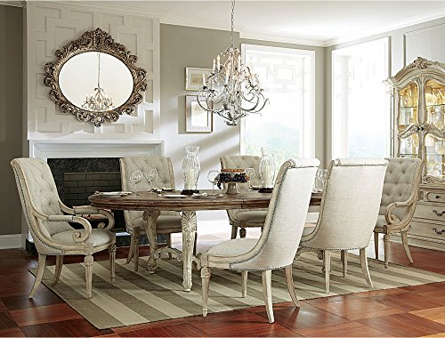 Boutique Collection 7 Piece Dining Sets Upholstered Furniture Table and Chairs Living and Dining Room