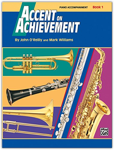 Alfred Accent on Achievement Book 1 Piano Acc. with CD - 17100 Series