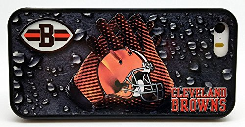 Cleveland Browns Football Gloves Phone Case Cover - Select Model (Galaxy S6 Edge) - Cleveland Browns Cover