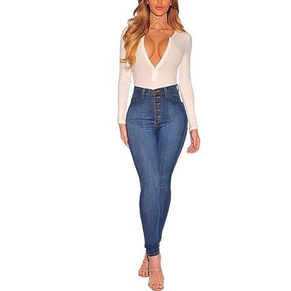 Pantalones vaqueros de las señoras Señoras para mujer Jeans ...