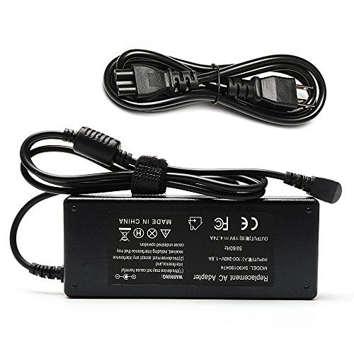 Easy Style 90W Ac Adapter Charger for Toshiba Satellite C655 C675 C850 C855 C875 L305 L305D L455 L505 L505D L635 L645 L655 L655D L745 L755 L775 L855 L875 PA5035E-1AC3 PA5035U-1ACA - Satellite Cord Power C655